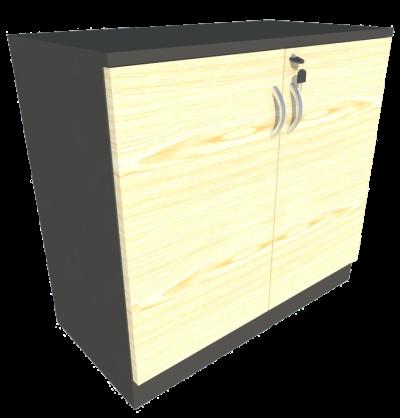 Low Cabinet Swing Door (Maple + Graphite)