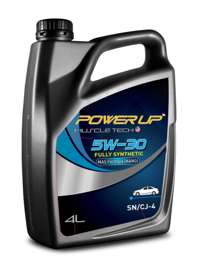 Power Up Muscle Tech Fully Synthetic 5W30 SN/CJ4
