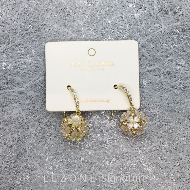 14K DESIGNER EARRINGS【PWP leggings @RM4.90! 】