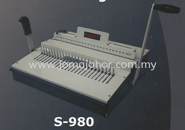 S-980 Axpert Binding Machine
