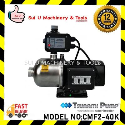 Tsunami Pump CMF2-40K Durable Stainless Steel Water Pump (0.75HP) 0.55kW
