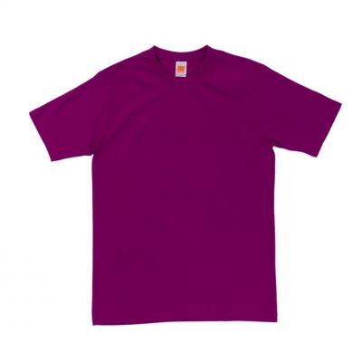 CT6030 Dark Purple Oren Sport Cotton Round Neck Short Sleeve Plain Tee