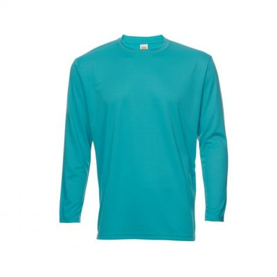 QD5473 Emerald Oren Sport Quick Dry Round Neck Long Sleeve WHITE