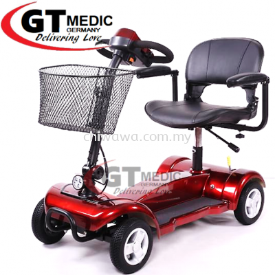 ��RM2,459.00��GT MEDIC GERMANY Electric Transport Mobility Scooter Motorcycle Wheelchair Bike Motor Wheel Chair /