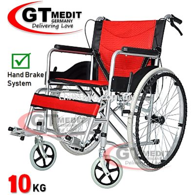��RM198.90��GT MEDIC GERMANY Ultra Lightweight Wheelchair Foldable Travel Transport Wheel Chair / Kerusi Roda Ringan
