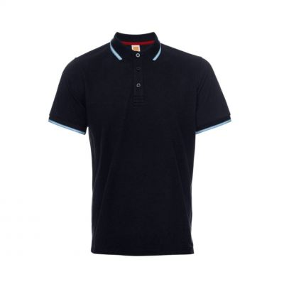 QD5378 Navy Pro Oren Sport Quick Dry Collar Short Sleeve