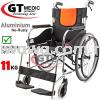 【RM350.00】GT MEDIC GERMANY Ultra Lightweight Aluminium Wheelchair Foldable Travel Transport Wheel Chair / Kerusi Roda Ringan Medical Supplies Health & Beauty