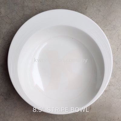 8.5�� Strip Bowl Melamine (Code: 25108)