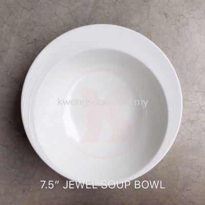 7.5�� Jewel Soup Bowl Melamine Bowl (Code: 25175)
