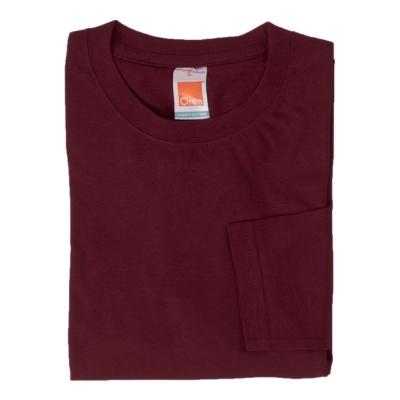 CT5406 Marron Royal Oren Sport Cotton Round Neck Long Sleeve