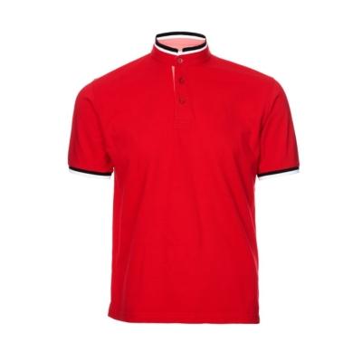 HC2305 Red Oren Sport Honeycomb Short Sleeve Polo Tee