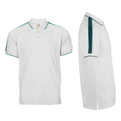 HC2200 White Oren Sport Honeycomb Short Sleeve Polo Tee