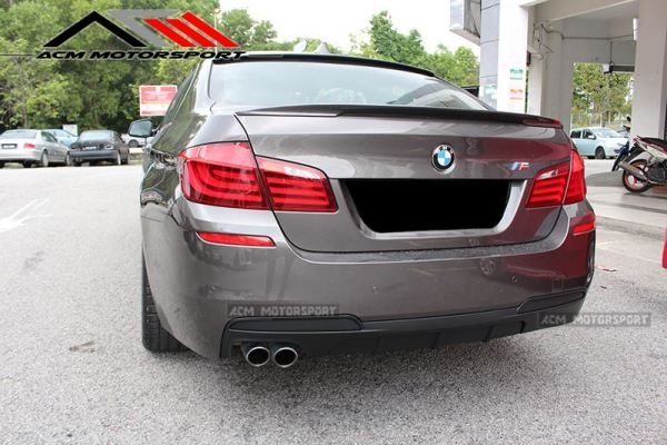 BMW F10 performance rear diffuser