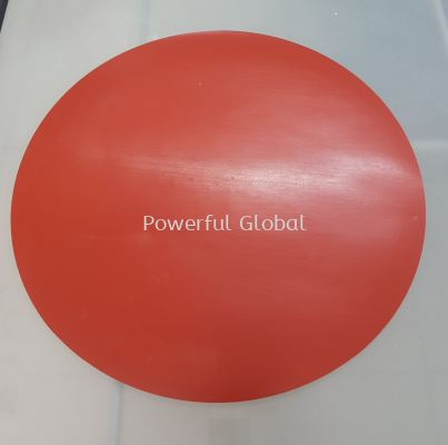 Red Silicone Rubber Pad