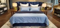Luxury Series Hotel Bed Sheet / Bed Linen Supply