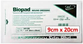 Biopad Wound Dressing 9cmx20cm