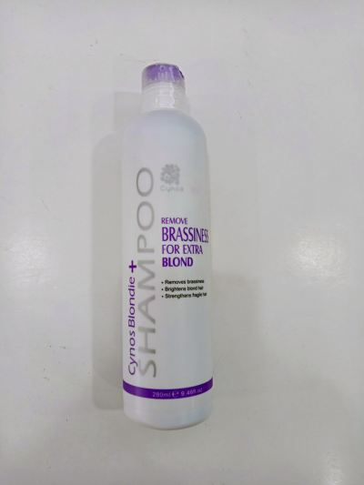 Cynos Blondie+Shampoo remove Brassiness For Extra Blond