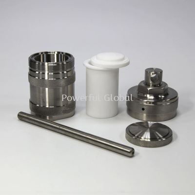 PTFE Teflon Lined Hydrothermal Synthesis Autoclave Reactor High Pressure Tank
