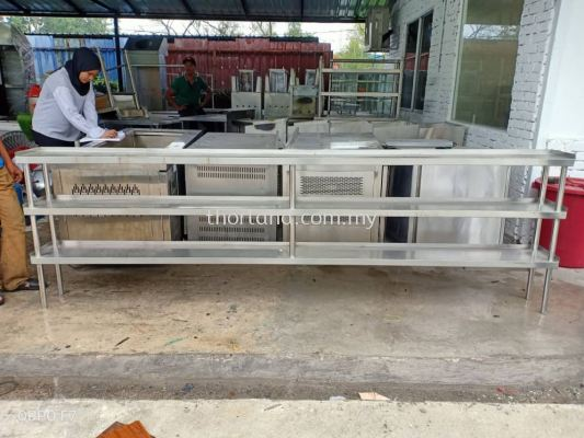 (L29) Steel Rack 3 Tierv