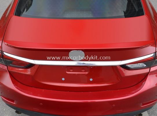 MAZDA 6 REAR TRUNK LIP SPOILER