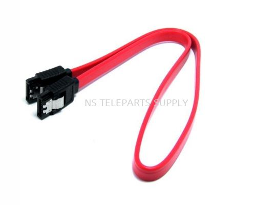 SATA CABLE 0.5 METER WITH CLIP