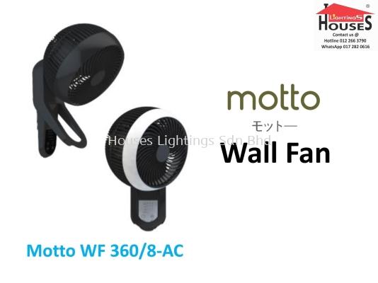 ALPHA MOTTO WALL FAN 360-8-AC