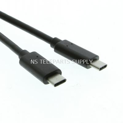 USB 3.1 TYPE C M/M CABLE 1.0 METER