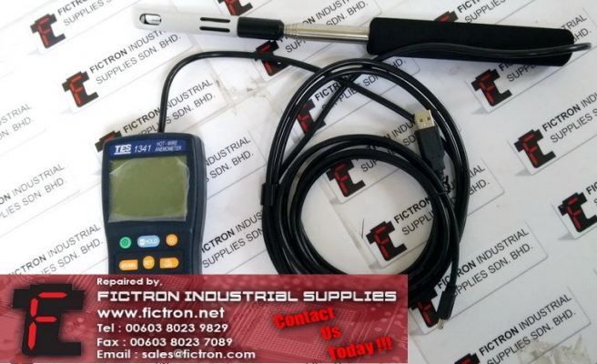TES-1341 TES1341 TES Hot-Wire Anemometer Supply Malaysia Singapore Indonesia USA Thailand