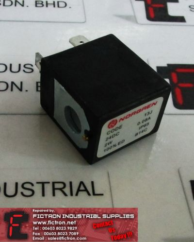 13J NORGREN Solenoid Coil Supply Malaysia Singapore Indonesia USA Thailand