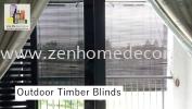 Outdoor Wooden Blinds Outdoor Blinds Wooden Blinds Blinds