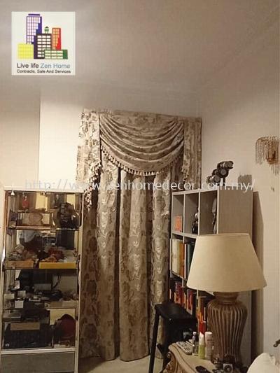 Scallop Curtain