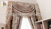 Scallop Curtain Scallop Curtain & Lace