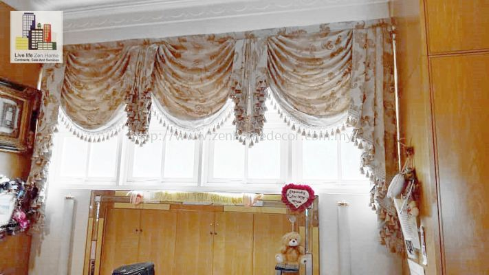 Scallop Curtain