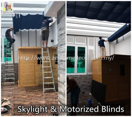 Skylight Motorized Blinds