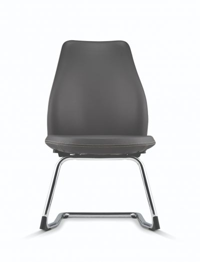Visitor/ Conference Chair with Chrome Cantilever Base