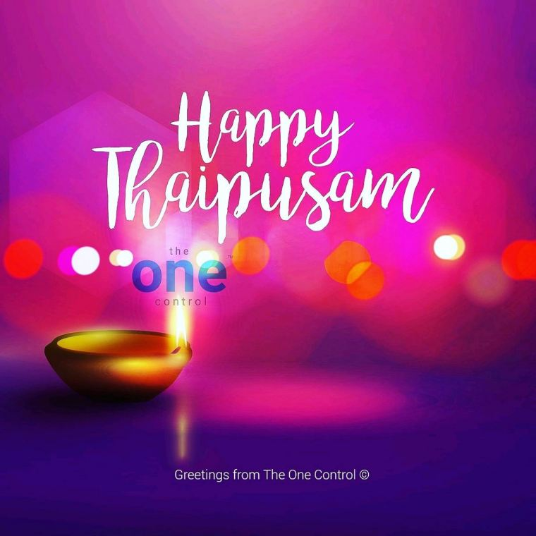 Happy Thaipusam