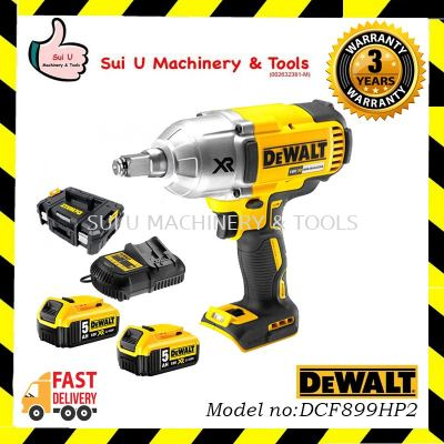 DEWALT DCF899HP2-KR 18V Cordless 1/2 Brushless High Torque Impact Wrench c/w accessories
