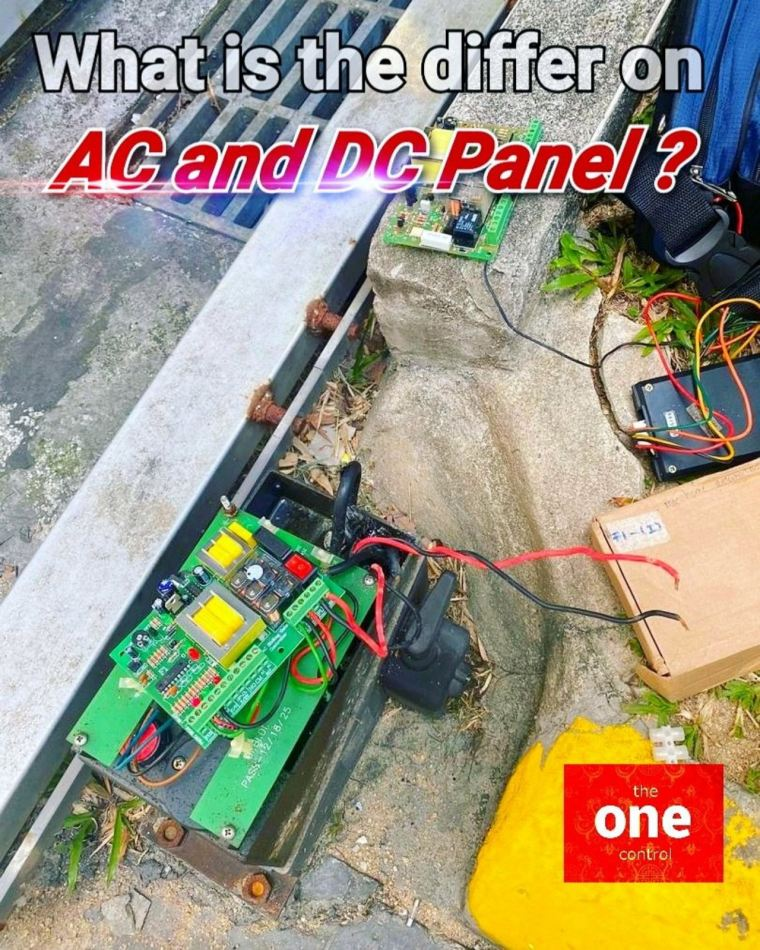 AC and DC Panel