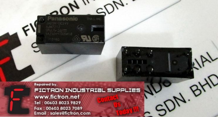 JW2SN-DC24V JW2SNDC24V PANASONIC General Purpose Relay Supply Malaysia Singapore Indonesia USA Thailand