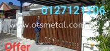 MMG020 Metal Main Gate (Grill)