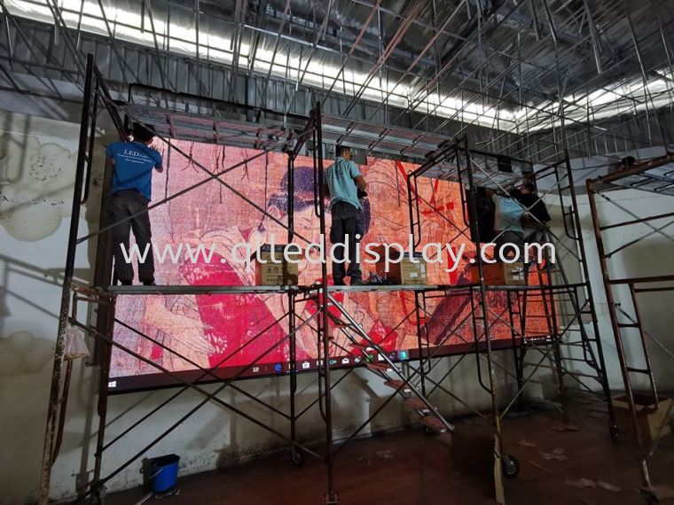 SJK(C)PANDAN Hall Stage  Primary School Hall Stage Effect LED Display Screen