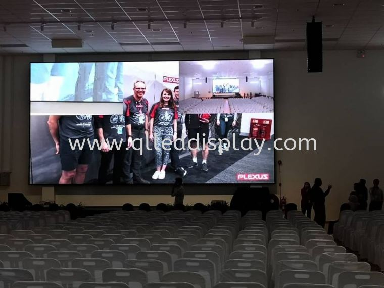 Factory Hall LED Display Screen @ Penang Plexus Manufacturing Sdn. Bhd Factory Hall Stage Background Grand LED Screen Stage Effect LED Display Screen