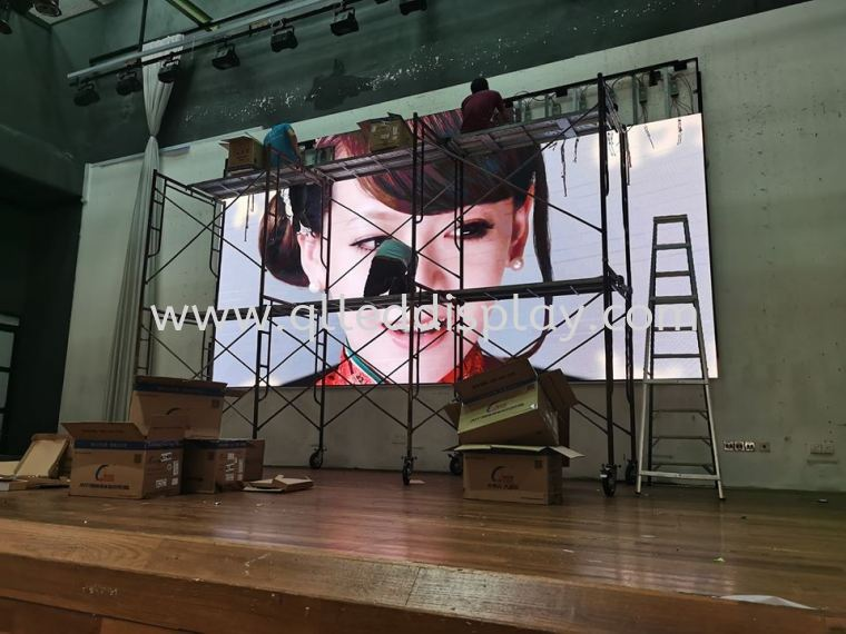 Amansari Residence Resort Hall LED Screen Resort / Hotel / BallRoom LED Display Screen Stage Effect LED Display Screen