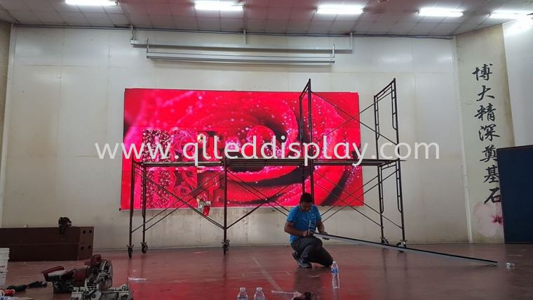 SJK(C) Pa Yai - Kluang Primary School Hall Stage Effect LED Display Screen