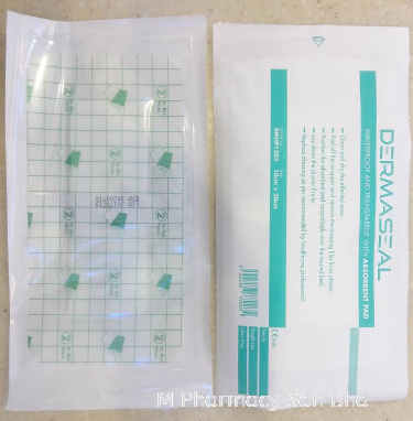 Dermaseal Waterproof Dressing With Absorbent Pad