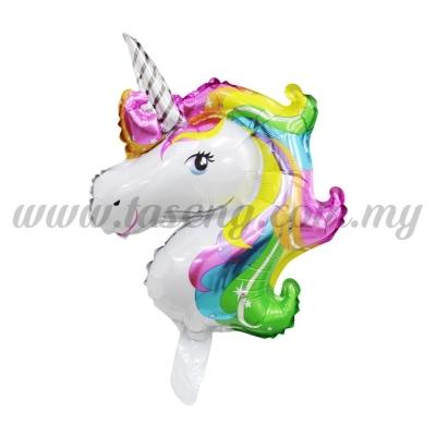 [Cartoon] Mini Foil Balloon *Unicorn Colorful (FB-S-0055Y)