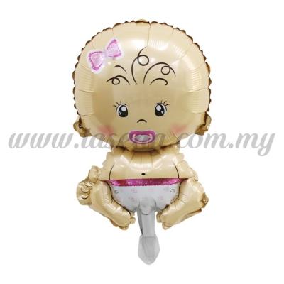 [Cartoon] Mini Foil Balloon *Baby Girl Nuk Pink (FB-S-N0027)