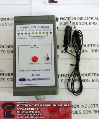 SL-030 SL030 DR SCHNEIDER Surface Resistance Tester Supply Malaysia Singapore Indonesia USA Thailand