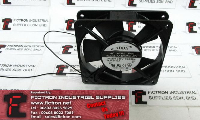 AA1252MB-AW AA1252MBAW ADDA Cooling Fan Supply Malaysia Singapore Indonesia USA Thailand