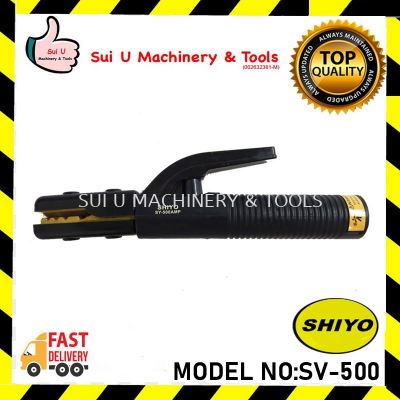 Shiyo SV-500 / SV500 / SV500 Electrode Holder Quality Arc Welding Accessories Quality In USA